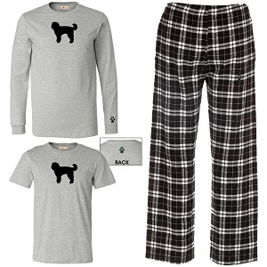 1WM-Paw & Bone Silhouette Youth /  Men's Kick Back Wear.