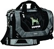 4AL-Corporate City Corp Messenger Bag with Embroidered Dog Breed